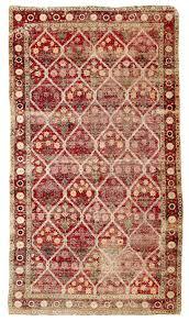 mughal crimson field fl lattice carpet