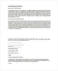 music management contract music contract template