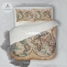 full size of vintage world map duvet cover world map duvet cover uk old map bedding