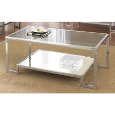 cordele chrome and glass coffee table by greyson living chrome and glass coffee table australia