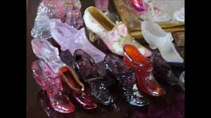 Collecting vintage glass shoes