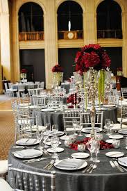 red and silver table decorations. To The Bride And Groom: Red, Silver, White \u0026 Black Wedding Inspirations Red Silver Table Decorations T