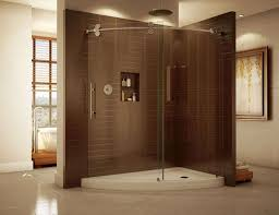 curved glass shower door luxury curved bent glass shower enclosures cool but can they