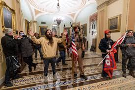 Adam Johnson, who allegedly stole Pelosi's lecturn, Jake Angeli charged in Capitol riots - The Washington Post