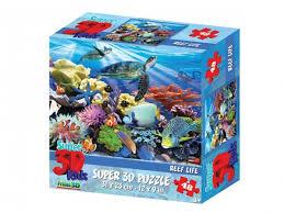 Стерео <b>пазл</b> Prime <b>3D</b> Жизнь на рифе <b>48 элементов</b> 13686 ...