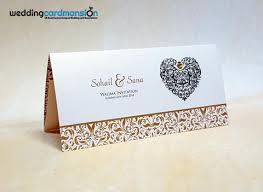 wedding invitations with hearts muslim wedding cards wedding card mansion