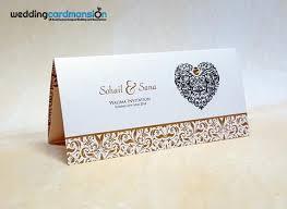 wedding invitations with hearts muslim wedding cards wedding card mansion