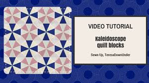 Video tutorial: Kaleidoscope blocks - quick and easy quilting ... & Video tutorial: Kaleidoscope blocks - quick and easy quilting Adamdwight.com