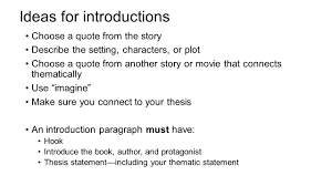 literary analysis essay purpose to identify the theme and message 4 ideas