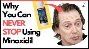 how long should i use minoxidil can i