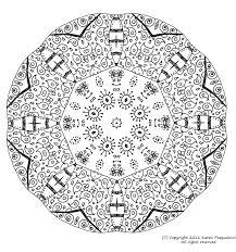 Coloriage Mandala Tres Difficile L Dessincoloriage