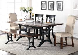 dining set with upholstered chairs round