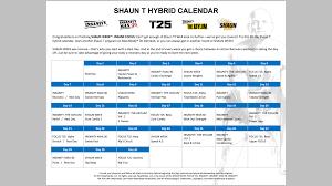 Hip Hop Abs Workout Chart Shaun T Hip Hop Abs Schedule Calendar Inspiration Design