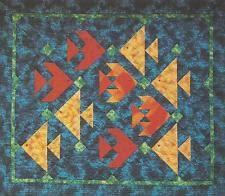 Fish Quilt Pattern | eBay & Fun Fish quilt pattern by Ruth Powers of Innovations Quilts Adamdwight.com