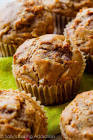 apple wheat muffins
