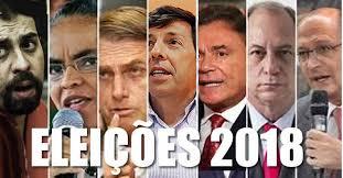 Resultado de imagem para candidatos a presidente 2018