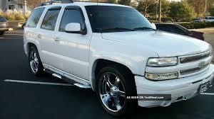 2002 Chevrolet Tahoe Ls Sport Utility 4 - Door 5. 3l Customized Suv