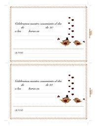 invitaciones de boda para imprimir tarjeta de casamiento para imprimir