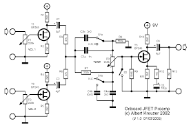 bass onboard preamp circuit diyaudio but i want to make it an active passive circuit