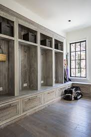 wood mudroom cabinets-would love to have this in the laundry room
