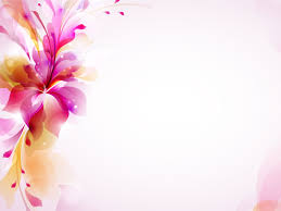 Spring Powerpoint Background Real Floral Frameowerpoint Backgrounds Flower Templates