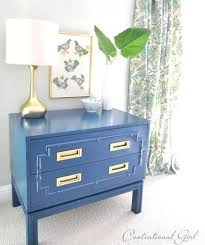 lacquered furniture peacock blue painted faux bamboo chest how to spray paint diy d80 lacquered