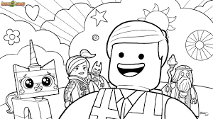 Small Picture The Lego Movie Coloring Pages Free Printable The Lego Movie 8281