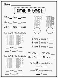 Place Value in First Grade | Expanded form, Base ten blocks and Math