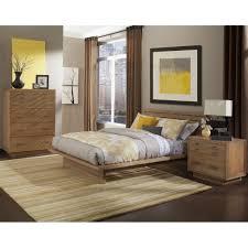 Solid Wood Modern Bedroom Furniture Modern Platform Customizable Bedroom Set Classic Queen Bed 3