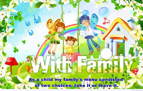 with my family cartoon quote hd