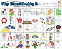 Lds Choristers Flip Chart Buddy 2 Clip Art Set