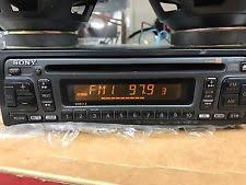 sony car electronics faceplates sony cdx 5490 radio wiring harness tested all good