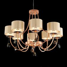 modern italian designer bronze swarovski crystal chandelier