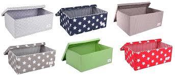 Decorative Fabric Storage Boxes Decorative Fabric Storage Boxes Storage Bins Cheap Grey Canvas 3