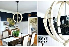round chandelier wood chandeliers distressed medium size of intended for greatest roun