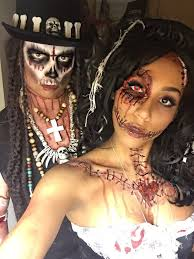 i keep ing across this and love it more and more everytime voodoo priest voodoo doll papa legba costume sfx skull skeleton makeup