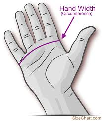 how to measure hand size for gloves kids gloves size chart us