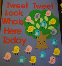 Whos Here Today Chart Tweet Tweet Look Who Is Here Today Thecreativemummy