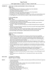 Accounting Controller Resume Samples Fund Controller Resume Samples Velvet Jobs 19