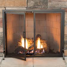 fireplace screens with doors. Classic Fireplace Screen With Doors | WoodlandDirect.com: Screens, Heritage Screens Woodland Direct