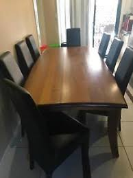 harvey norman leather dining chairs dining tables gumtree australia free local clifieds