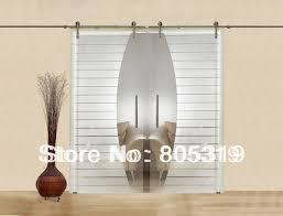 interior glass barn doors. Modern Interior Glass Sliding Barn Door Hardware Double Doors L