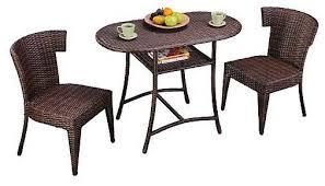 3 Piece Outdoor Dining Set 0FHP  Cnxconsortiumorg  Outdoor Three Piece Outdoor Furniture