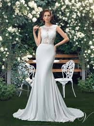 Charming Beach Garden Wedding Dresses 2017 Trumpet Sexy See