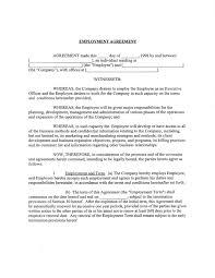 Employment Agreements BizDIY More On Employment Agreements 4