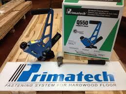 primatech q550l pneumatic adjule flooring nailer mallet free ship