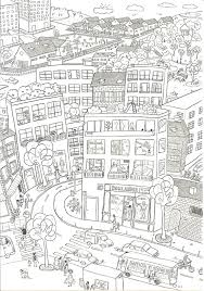 Small Picture city coloring pages boutique dessin kids Pinterest Boutique