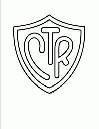 Pin Lds Ctr Shield Coloring Page Coloring Home