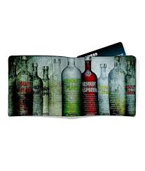 imerch absolut vodka men s leather wallet at low in india snapdeal