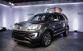 2018 ford explorer interior. Perfect Ford New Ford Explorer Launched On 2018 Interior